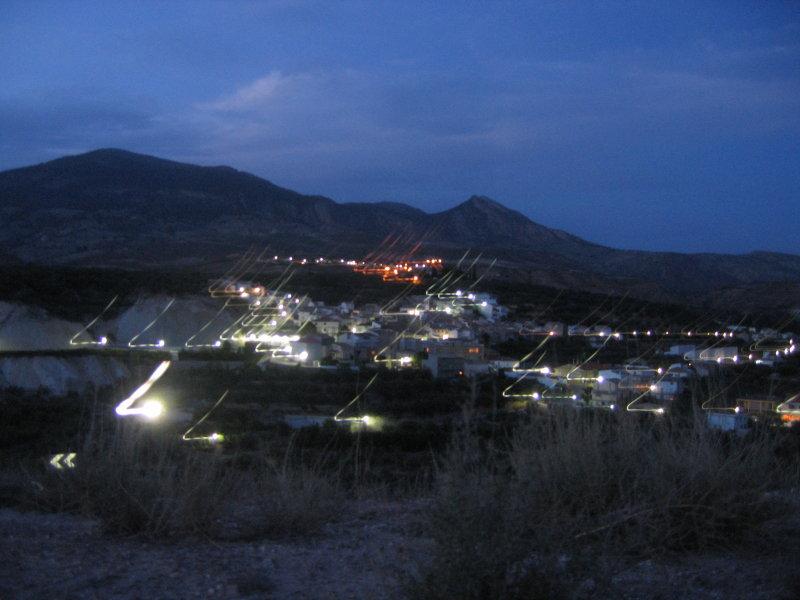 Hinojares de Noche