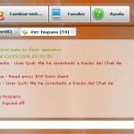 Cliente IRC online en Flex en colaboración con Irc-Hispano