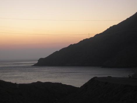Anochecer en Cabo de Gata