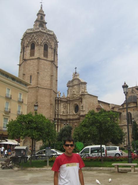 Miguelete y puerta Principal de la Catedral de Valencia