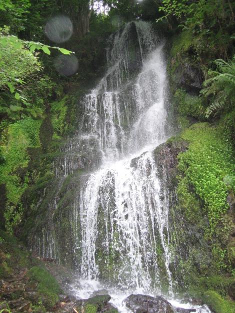 Cascada en el Val de Toran