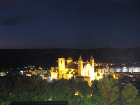 Vista de Alcañiz desde el Castillo
