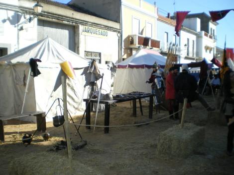 Recreación y Mercado de los Borgia en Llombai